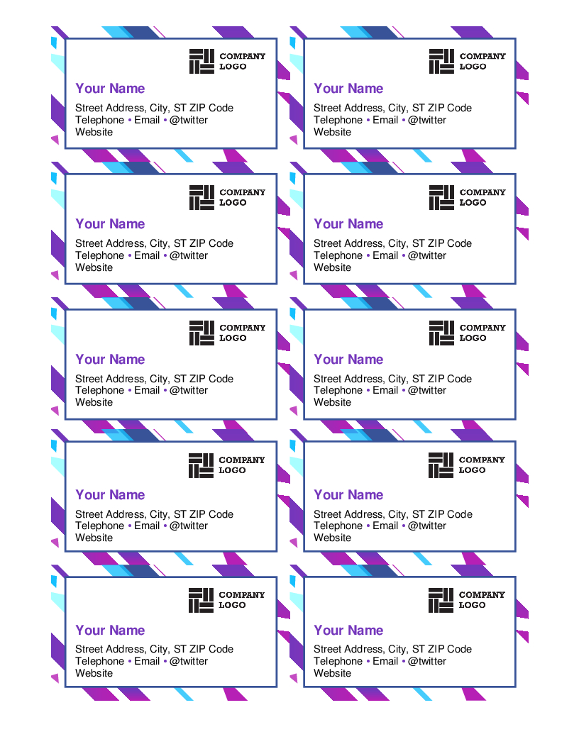 Business Card Templates   29+ Free Printable Word & Pdf Formats - Free Printable Business Card Templates Pdf