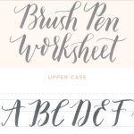 Calligraphy Practice Sheets Printable Free Modern Calligraphy   Calligraphy Practice Sheets Printable Free