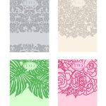 Cecistyle   Make This!   Ceci New York Spring Place Cards. #template   Free Printable Damask Place Cards