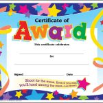 Certificate Template For Kids Free Certificate Templates   Free Printable Camp Certificates