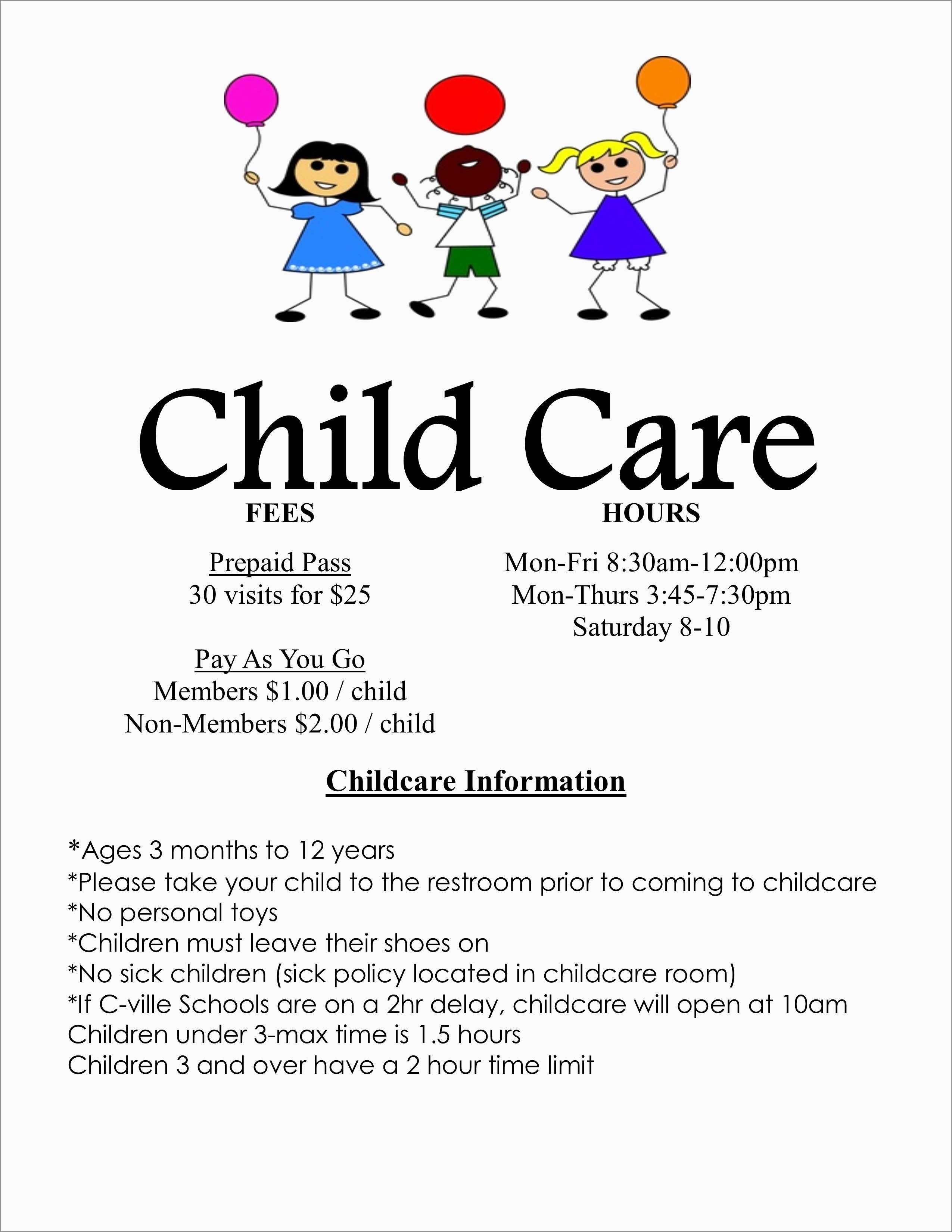 Childcare Newsletter Templates Free Best Of Best Free Printable - Free Printable Home Daycare Flyers
