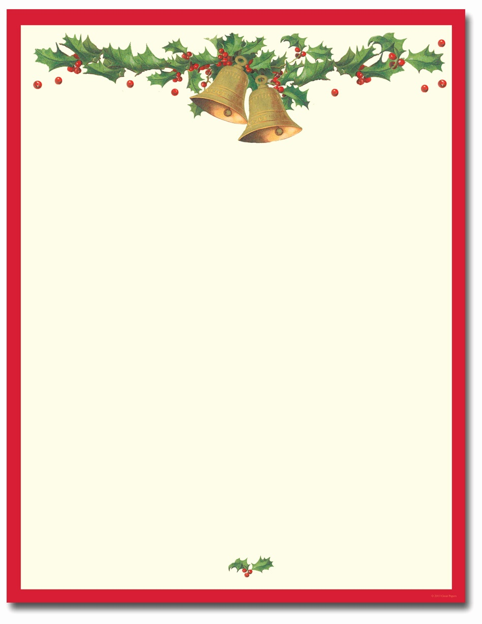 Christmas Letterhead Templates Free Printable Christmas Stationery - Free Printable Christmas Stationery Paper
