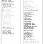 Christmas   The Lyrics Of 8 The Best Christmas Songs And Carols   Free Printable Lyrics To Christmas Carols