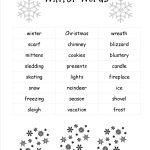 Christmas Worksheets And Printouts   Free Printable Christmas Worksheets For Kids