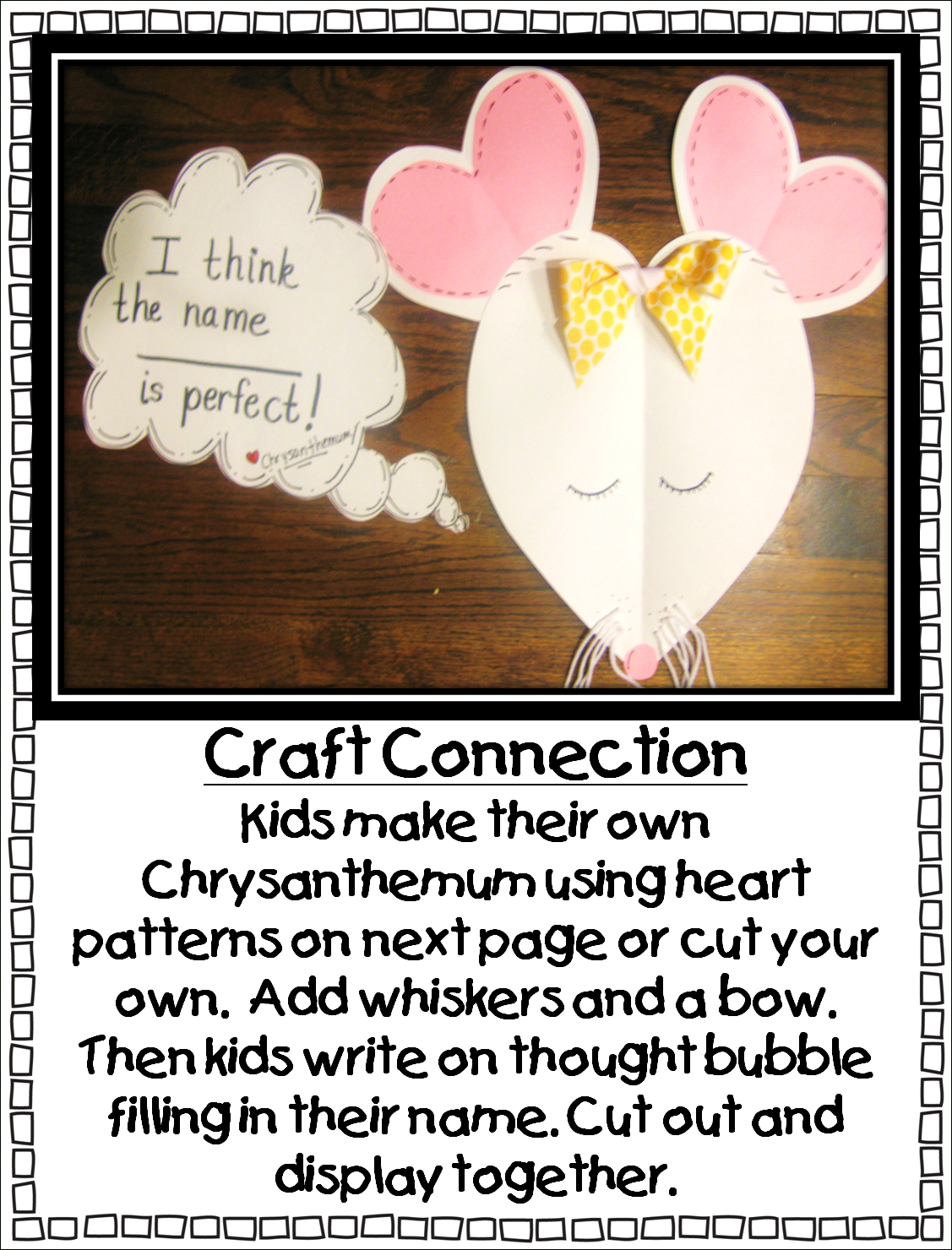 Chrysanthemumkevin Henkes Printables | First Grade Wow - Chrysanthemum Free Printable Activities