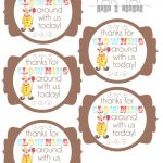 Circus Party Favor Tags | Party Like A Cherry | Circus Party Favors   Birthday Party Favor Tags Printable Free