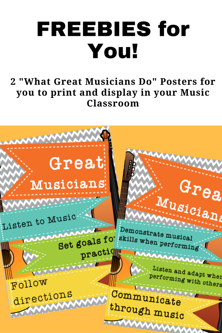 Classroom Decorations | Music | Music Classroom, Music Education - Free Printable Music Posters
