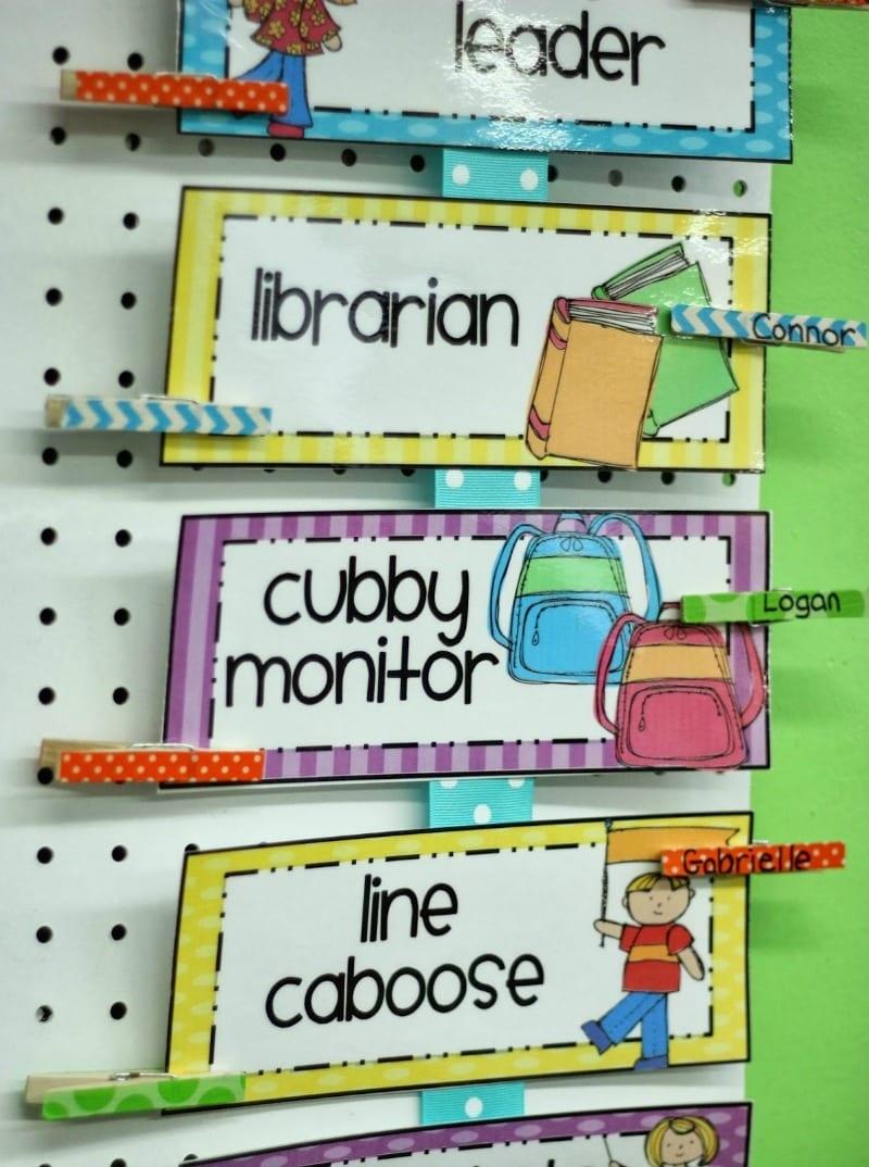 Classroom Job Charts - 38 Creative Ideas For Assigning Classroom Jobs - Free Printable Classroom Helper Signs