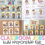 Classroom Jobs That Kids Will Love – Proud To Be Primary   Free Printable Classroom Helper Signs