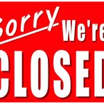 Closed Signs Template   Kaza.psstech.co   Free Printable Holiday Signs Closed