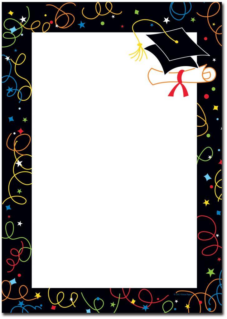 Free Printable Graduation Paper