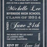 College Graduation Party Invitations Templates Free Awesome   Free Printable Graduation Party Invitations 2014