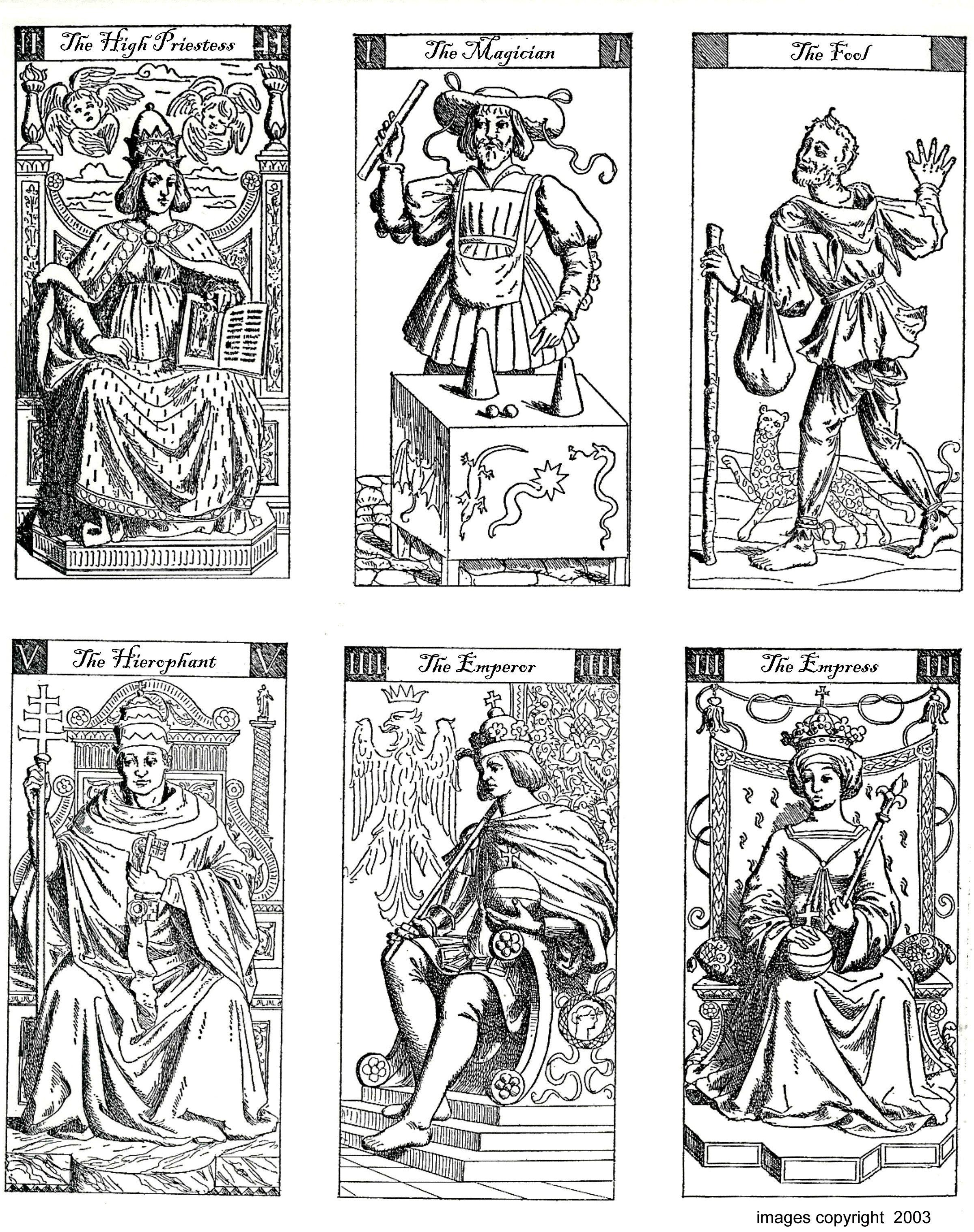 Color Your Own Tarot | Art Group | Free Tarot Cards, Free Tarot, Diy - Free Printable Tarot Cards