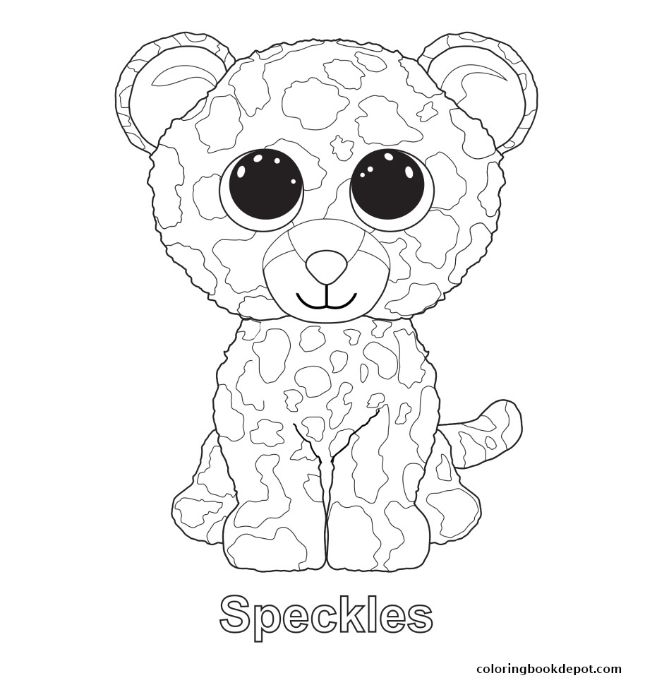 Coloring Book World ~ Beanie Boo Coloring Pages Designatprinting Com - Free Printable Beanie Boo Coloring Pages