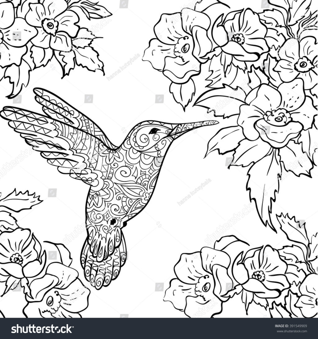 Coloring Book World ~ Marvelousird Coloring Page Red Throated Nest - Free Printable Pictures Of Hummingbirds