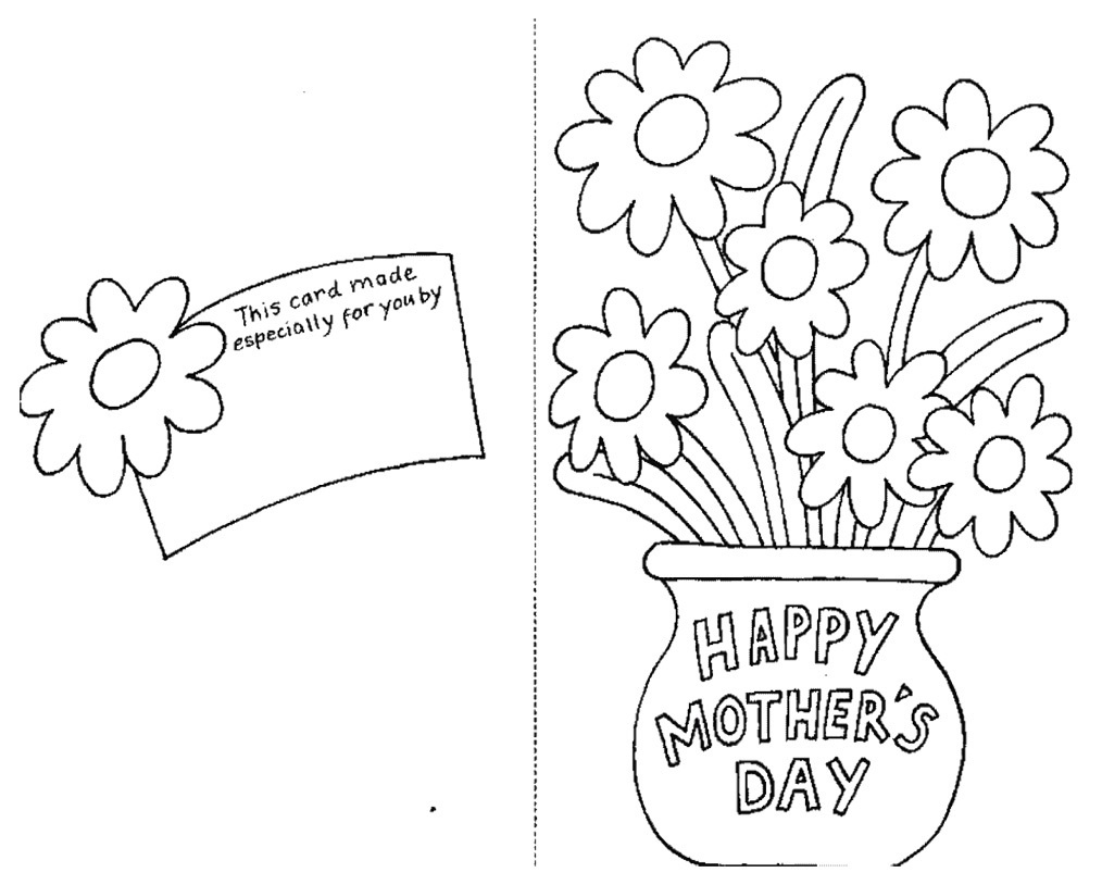 Coloring ~ Coloring Mothers Day Card Free Printable Cards To Color - Free Spanish Mothers Day Cards Printable