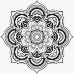 Coloring ~ Coloring Page Mandala Yin Yang Pages For Adults Picture   Free Printable Mandala Coloring Pages For Adults