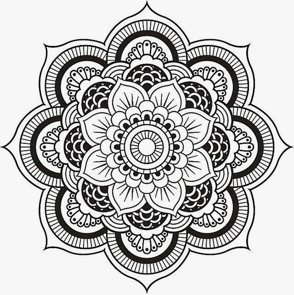 Coloring ~ Coloring Page Mandala Yin Yang Pages For Adults Picture - Free Printable Mandala Coloring Pages For Adults
