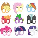 Coloring ~ Freerintable My Littleony Coloringages For Kids Character   Free My Little Pony Printable Masks
