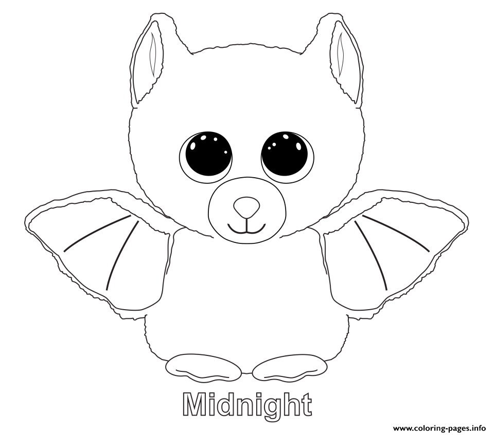 Coloring Ideas : Beanie Booing Pages Toys Staggering Only Photo - Free Printable Beanie Boo Coloring Pages