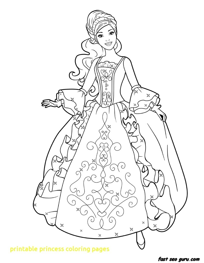 Coloring Ideas : Coloring Ideasable Princess Pages Free Frozen - Free Printable Princess Coloring Pages