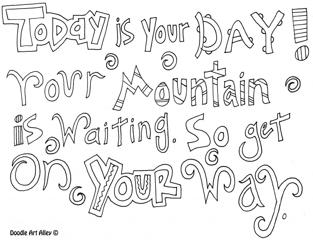 Coloring Page ~ Inspirational Quotesoloring Pages Page Dr Seuss - Free Printable Dr Seuss Coloring Pages