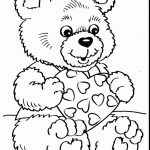Coloring Pages Ideas: Best Of Teddy Bear Coloring Pages For Adults   Teddy Bear Coloring Pages Free Printable