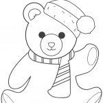 Coloring Pages Ideas: Coloring Pages Ideas Christmas Teddy Bearring   Teddy Bear Coloring Pages Free Printable
