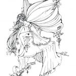 Coloring Pages Ideas: Coloring Pages Ideas Dark Gothic Fairy For   Free Printable Coloring Pages For Adults Dark Fairies