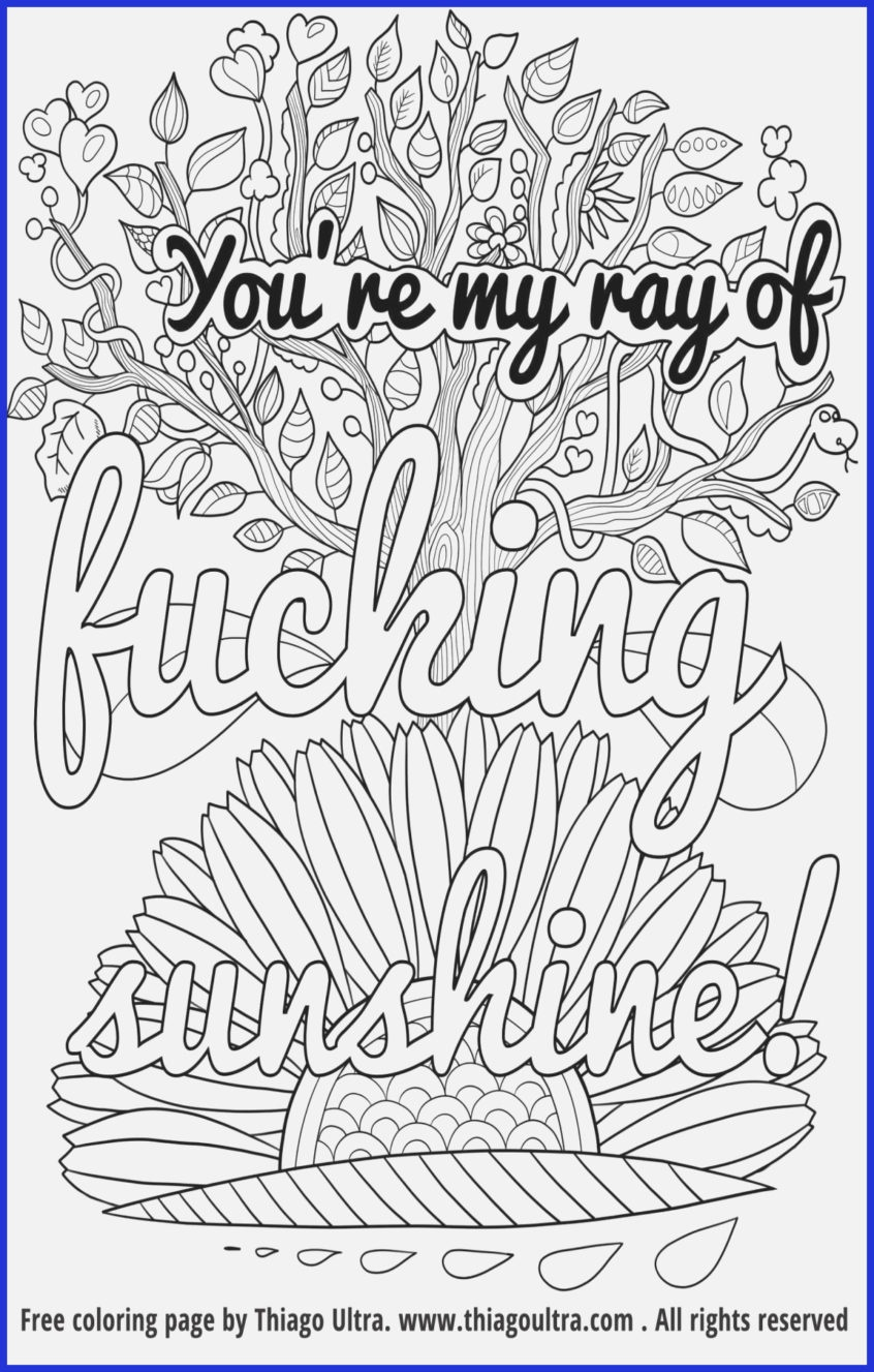 Coloring Pages Ideas: Coloring Pages Ideas Stunning Swear Word Book - Free Printable Swear Word Coloring Pages