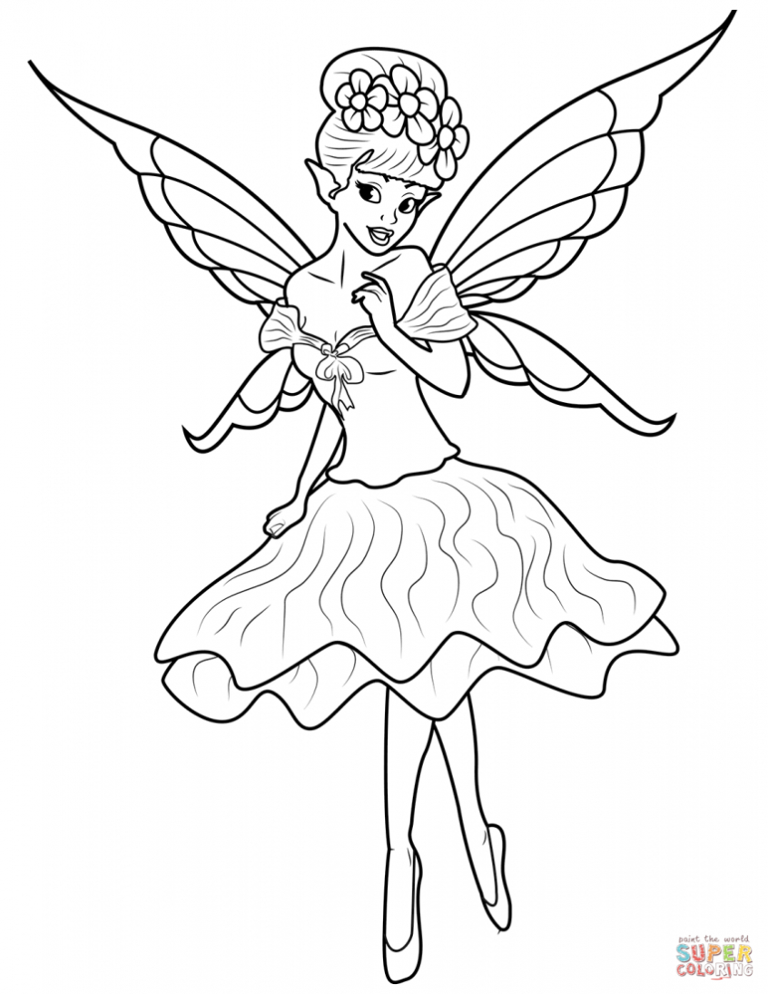 Coloring Pages Ideas: Fairying Pages To Print Free For Adults Dark - Free Printable Coloring Pages For Adults Dark Fairies