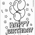 Coloring Pages Ideas: Printable Birthday Coloring Pages Amazing Card   Free Printable Birthday Cards To Color