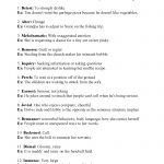 Context Clues Worksheet 2.1 | Answers   Free Printable 5Th Grade Context Clues Worksheets