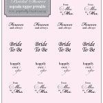 Country Bridal Shower Cupcake Topper {Free} Printable   Perpetually   Free Printable Cupcake Toppers Bridal Shower