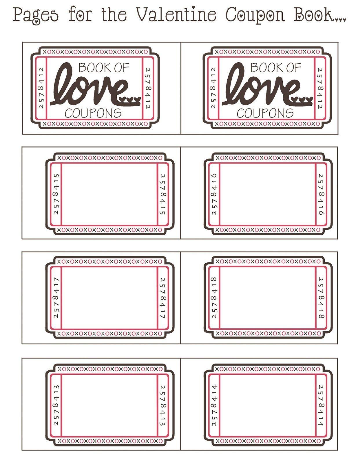Coupon Book Ideas For Husband. Blank Love Coupon Templates Printable - Free Printable Coupons For Husband