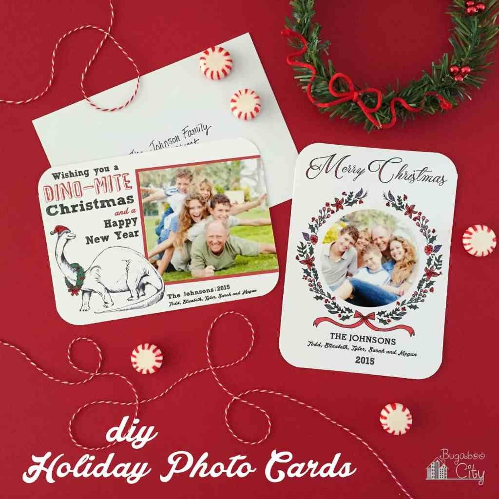 Create Your Own Christmas Photo Card With This Easy Tutorial - Create Your Own Free Printable Christmas Cards