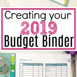 Creating Your 2019 Budget Binder   The Simply Organized Home   Free Printable Budget Binder