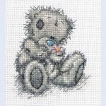 Cross Stitch Patterns Free Printable |  You   Me To You   Tatty   Baby Cross Stitch Patterns Free Printable