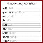 Cursive Handwriting Worksheets – Free Printable! ⋆ Mama Geek   Free Printable Handwriting Sheets For Kindergarten