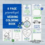 Custom Wedding Coloring Book Pages Printable In 2019 | Member Board   Free Printable Personalized Children's Books