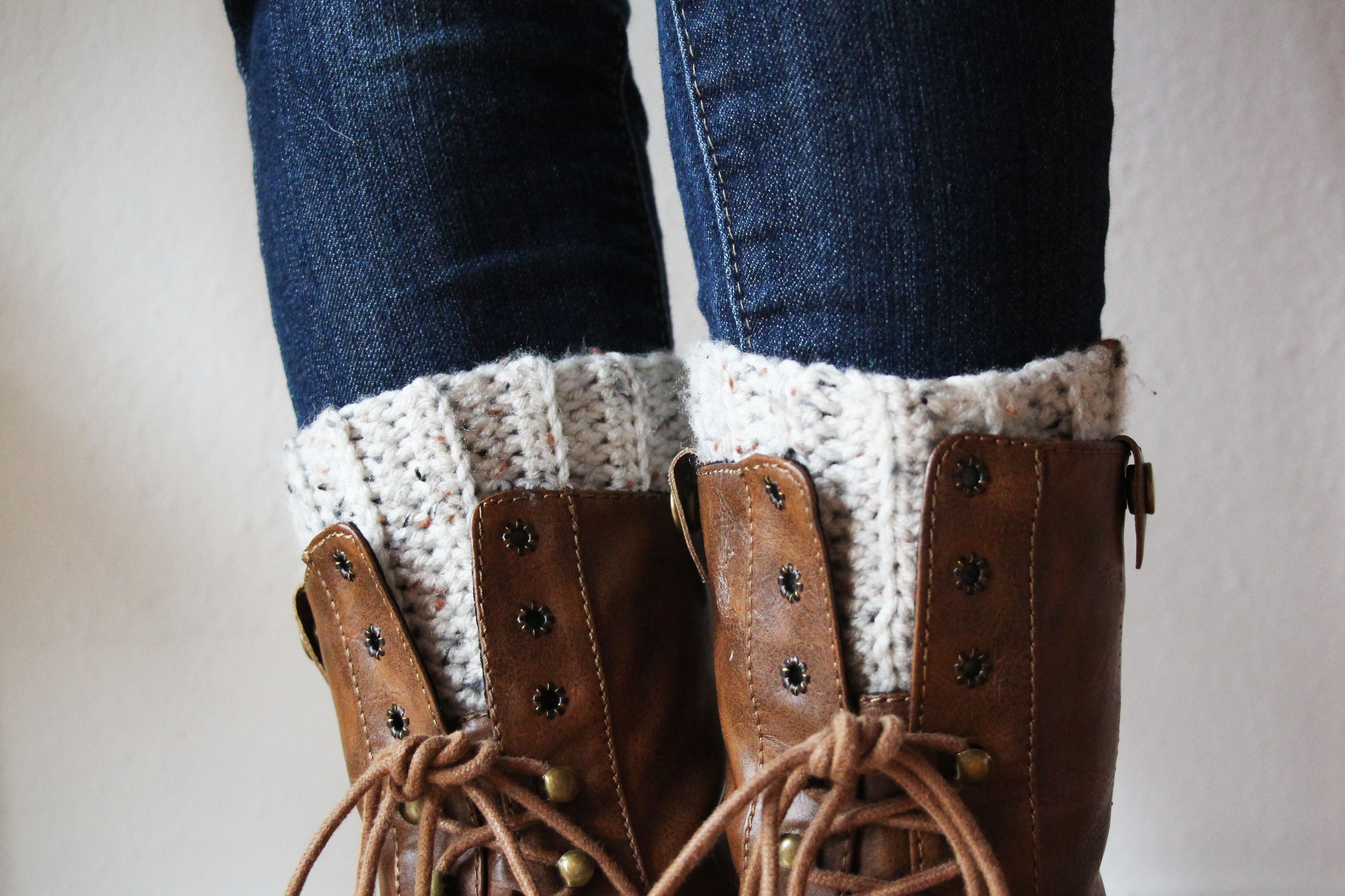 Cute And Easy Crocheted Boot Cuffs | Skip To My Lou - Free Printable Crochet Patterns For Boot Cuffs
