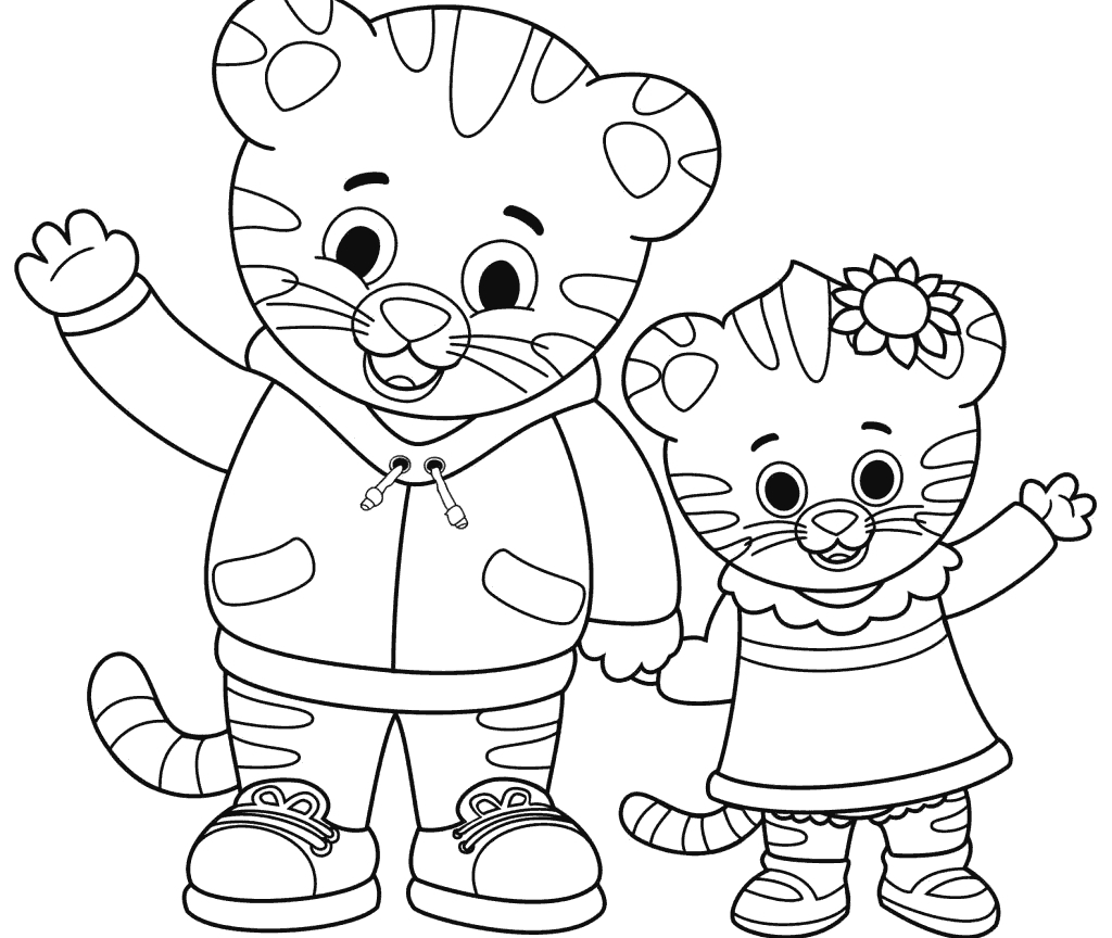Daniel Tiger Coloring Pages - Best Coloring Pages - Free Printable Daniel Tiger Coloring Pages