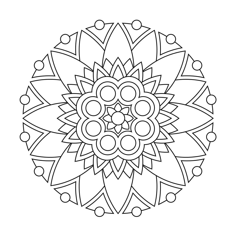 Design-Pdf-Printmandala-4C72679F35Be02Dd2858F744443Cec39 | Mandalas - Free Printable Mandalas Pdf