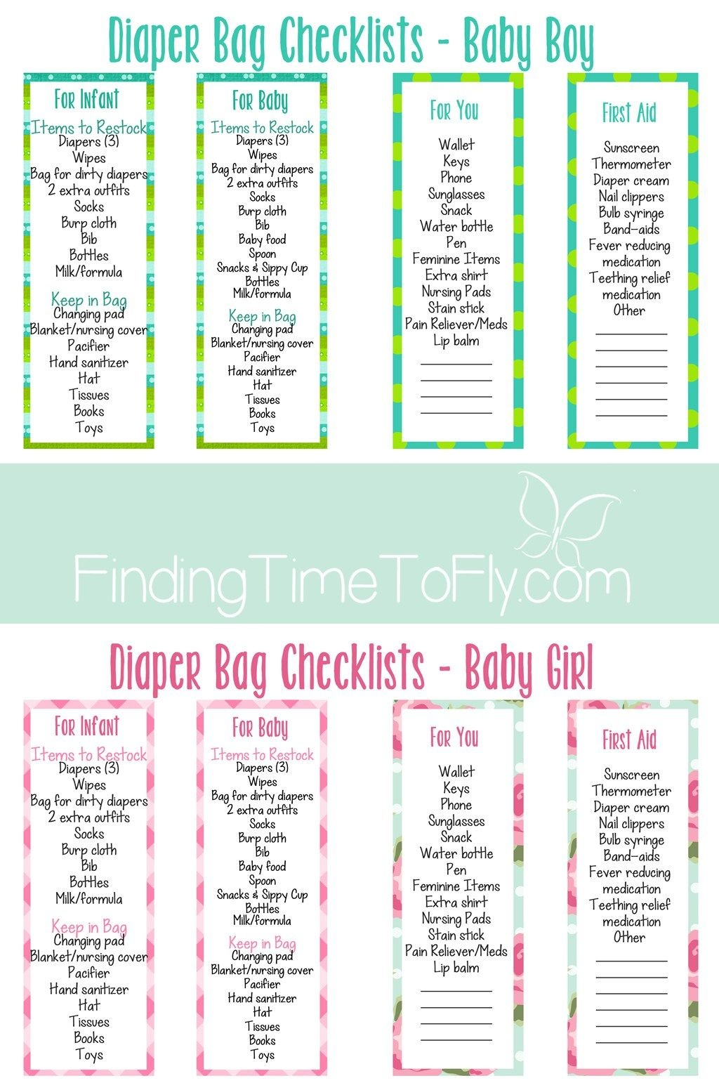 Diaper Bag Checklist | New Baby | Diaper Bag Checklist, Baby Diaper - What's In The Diaper Bag Game Free Printable