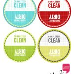 Dirty And Clean Dishwasher Tag—Free Download – | Free Printables   Free Printable Clean Dirty Dishwasher Sign