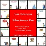 Disney Autograph Book Free Printable   That's Vandy   Free Printable Autograph Book For Kids
