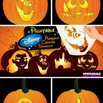 Disney Pumpkin Carving Patterns Free Printable (81+ Images In   Free Pumpkin Carving Patterns Disney Printable