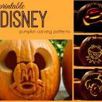 Disney Pumpkin Carving Patterns   Frugal Fanatic   Free Pumpkin Carving Patterns Disney Printable