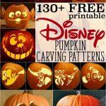 Disney Pumpkin Stencils: Over 130 Printable Pumpkin Patterns   Free Pumpkin Carving Patterns Disney Printable