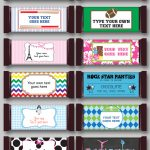 Diy Candy Bar Wrapper Templates | Party Favors | Chocolate Bar Labels   Free Printable Hershey Bar Wrappers